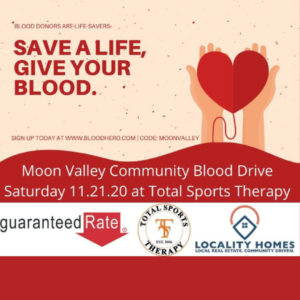 Moon Valley Blood Drive